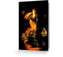 Flamenco Greeting Card
