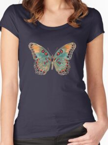 Limenitis Astyanax-The Red-Spotted Purple Women's Fitted Scoop T-Shirt