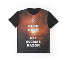 Keep Calm and Use Occam's Razor ngc1491 Graphic T-Shirt