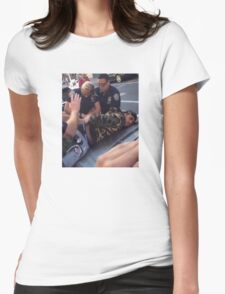 YMBape Arrested  Womens Fitted T-Shirt