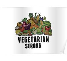 Vegetarian Strong Poster