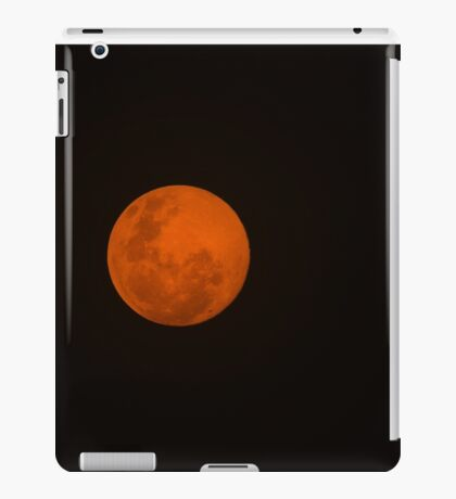 Full Moon - Black Night and Yellow Mystery  iPad Case/Skin