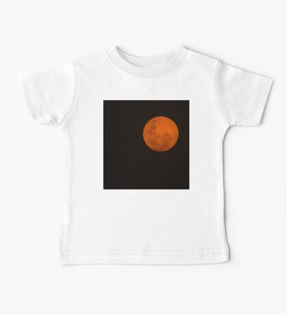 Full Moon - Black Night and Yellow Mystery  Baby Tee
