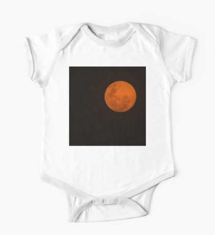 Full Moon - Black Night and Yellow Mystery  One Piece - Short Sleeve