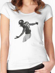 Odell Beckham Jr 13 Women's Fitted Scoop T-Shirt