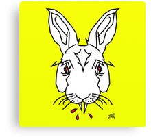 Vampire Bunny Canvas Print