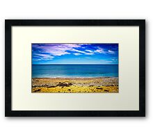 Golden Rock Beach Framed Print