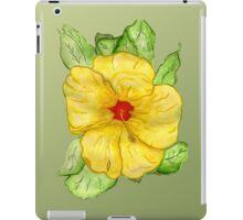 Kathy's Hawaiian State Flower iPad Case/Skin