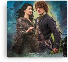 Blood of my Blood Canvas Print