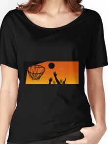 Above the Rim Women's Relaxed Fit T-Shirt