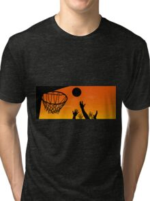 Above the Rim Tri-blend T-Shirt