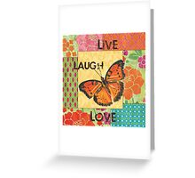Gypsy Butterfly Greeting Card