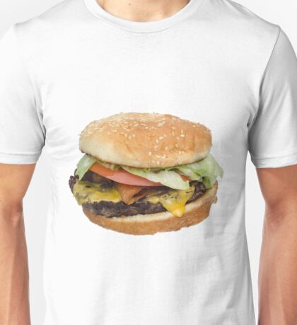 The Real Burger Unisex T-Shirt