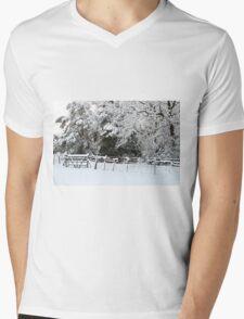 Winter Wonderland  Mens V-Neck T-Shirt