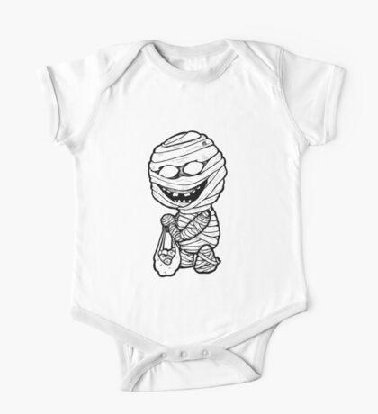Apple Mummy One Piece - Short Sleeve