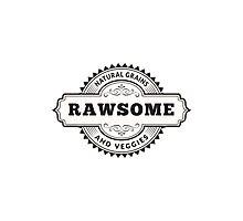 Vegan Vegetarian Rawsome Photographic Print