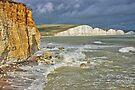 The Seven Sisters From Hope Gap - HDR by Colin J Williams Photography