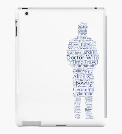 Doctor Who Word Cloud iPad Case/Skin