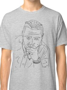 Post Malone cartoon/sketch merch Classic T-Shirt