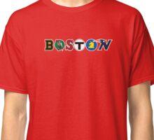 Boston- Logos of Boston Classic T-Shirt
