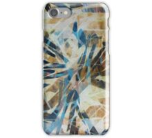 Fractured Kaleidoscope Resist Hand Painted Acrylic Digitally enhanced  iPhone Case/Skin