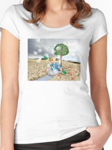 Novelty Challenge Women's Fitted Scoop T-Shirt