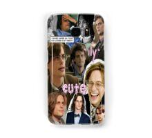 Matthew Gray Gubler Collage Samsung Galaxy Case/Skin