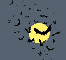 Bat Swarm by . VectorInk