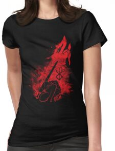 Berserk Beast of Darkness Womens Fitted T-Shirt