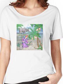 MilkTree Women's Relaxed Fit T-Shirt