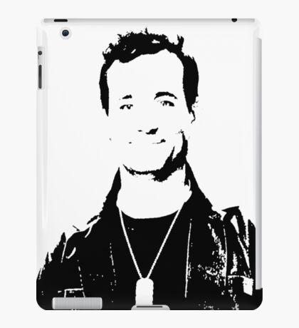 Bill Murray Stripes - Black and White iPad Case/Skin