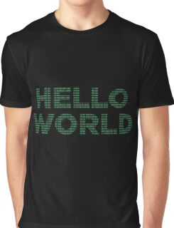 Hello World - Binary Graphic T-Shirt