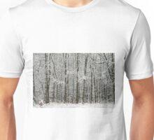 Thick Winter Woods Unisex T-Shirt