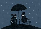 Bugs in the Rain by djrbennett