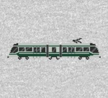 Streetcar - The Kids' Picture Show - Train/Subway - 8-Bit One Piece - Short Sleeve