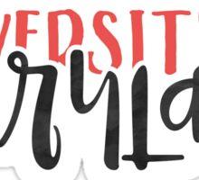 University of Maryland - Style 1 Sticker