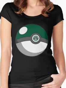 Starbucks Pokéball Women's Fitted Scoop T-Shirt