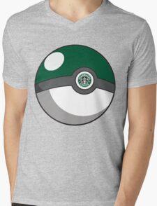 Starbucks Pokéball Mens V-Neck T-Shirt