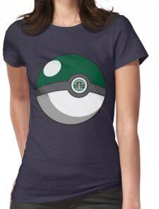 Starbucks Pokéball Womens Fitted T-Shirt