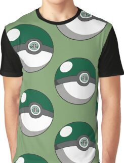 Starbucks Pokéball Graphic T-Shirt