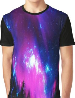 Amethyst Winter Sky Graphic T-Shirt