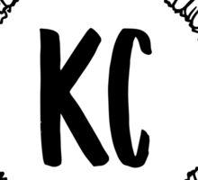 KC Sunflower Sticker