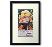curvallure Framed Print