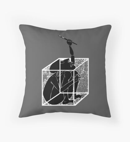 graphistophilus Throw Pillow