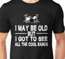 ALL THE COOL BANDS Unisex T-Shirt