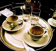 Cafe de flore a Paris by Danica Radman