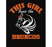 Broncos Photographic Print