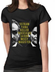I Am The Master and You Will Obey Me Womens Fitted T-Shirt