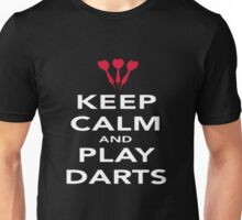 Keep Calm And Play Darts Unisex T-Shirt