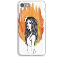 FIRE GIRLS iPhone Case/Skin
